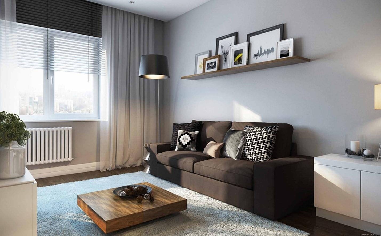 Советы по дизайну однокомнатных квартир 133