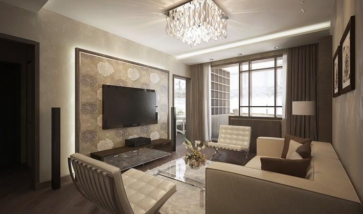 Продажа квартир с дизайнерским ремонтом, Москва